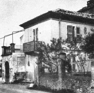 Casa natale di Cesare Pavese, Santo Stefano Belbo