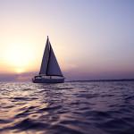Quella barca in mezzo al mare
